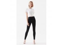A.C.A.İ.P Jean Kadın Siyah Pantolon