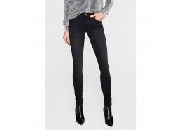 Adriana Smoke Gold Kadın Siyah Kot Pantolon