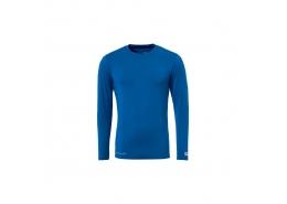 Likralı Uzun Kol Erkek Mavi İçlik (1101751-SAKS)