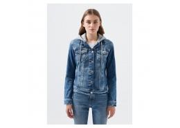 Darcy 90's Kadın Mavi Kot Ceket (110196-32066)