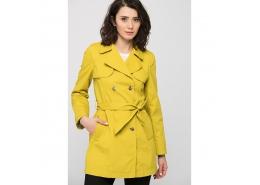 Kadın Sarı Trenchcoat (110243-25782)