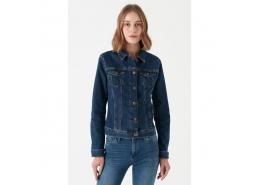 Daisy İndigo Kadın Kot Jeans Ceket