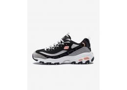 Skechers D'lites - New Journey Kadın Siyah Sneakers (11947 BKWG)
