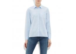 Oxford Kadın Bulut Mavi Gömlek (120861-21642)