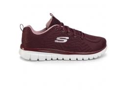 Graceful-Get Connected Kadın Bordo Spor Ayakkabı