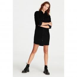 Kadife Elbise Siyah