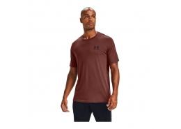 Sportstyle Left Chest Erkek Bordo Tişört
