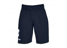 Sportstyle Cotton Graphic Erkek Mavi Şort (1329300-408)