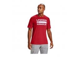 UA Team Issue Wordmark Erkek Kırmızı Tişört