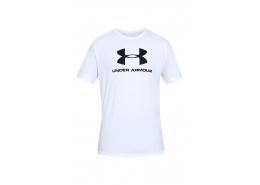 Under Armour Sportstyle Logo Erkek Beyaz Tişört