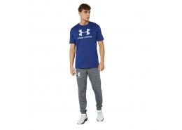 Sportstyle Logo Erkek Mavi Tişört (1329590-415)