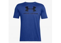 Sportstyle Left Chest Erkek Mavi Tişört