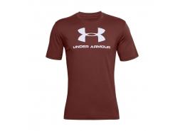 Sportstyle Logo Erkek Bordo Tişört