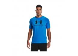 Sportstyle Logo Erkek Mavi Tişört (1329590-787)