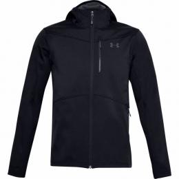 ColdGear Infrared Shield Erkek Siyah Sweatshirt