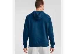 Rival Fleece Big Logo Erkek Mavi Sweatshirt