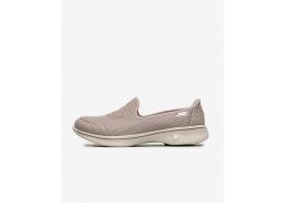 Go Walk 4 Kadın Bej Yürüyüş Ayakkabısı (14170 TPE)