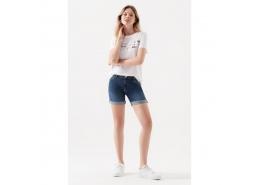 Mavi Jeans Pixie Gölgeli Kadın Kot Şort