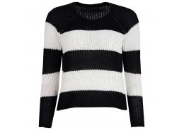 Onlchampagne Stripe 7/8 Pullover Cc Knt