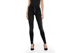 Onlblush Hw Button Sk Jeans Rea1099 Noos