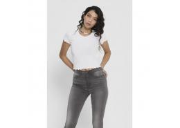 Only Onlemma Kadın Beyaz Tişört (15201206-White)