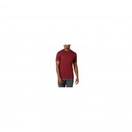 Zero Rules Erkek Kırmızı Yuvarlak Yaka Tişört