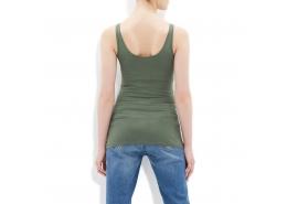 Mavi Jeans Kadın Yosun Yeşili Basic Atlet
