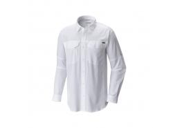 Silver Ridge Uzun Kollu Erkek Beyaz Gömlek
