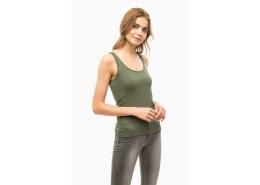 Mavi Jeans Basic Kadın Yeşil Atlet