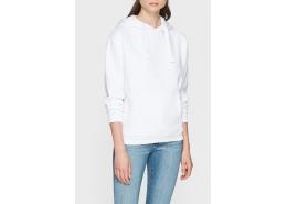 Kapüşonlu Kadın Beyaz Sweatshirt (167299-620)