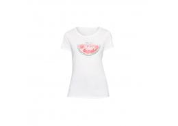 Karpuz Baskılı Kadın Beyaz Tişört (167903-620)