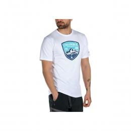 CSC Mountain Shield Graphic Erkek Beyaz Tişört (CS0127_100)