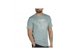 Neon Forest Graphic Erkek Yeşil Tişört (CS0128_345)