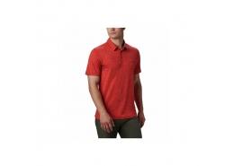 Tech Trail Erkek Kırmızı Polo Tişört