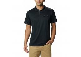 Utilizer Erkek Siyah Polo Tişört