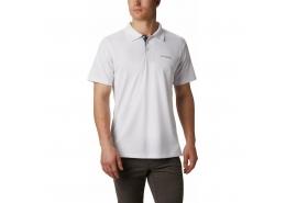 Utilizer Erkek Beyaz Polo Tişört