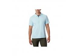 Utilizer Erkek Açık Mavi Polo Tişört (AO0126_427)