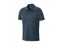 Utilizer Erkek Koyu Mavi Polo Tişört (AO0126_464)