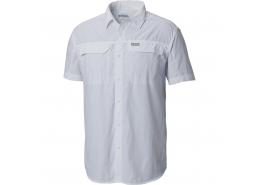 Silver Ridge Kısa Kollu Beyaz Erkek Gömlek