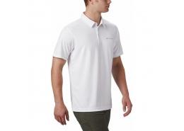 M Mist Trail Erkek Beyaz Polo Tişört (AO0306_100)