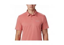 Mist Trail Polo Erkek Pembe Tişört