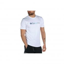CSC Trio Stripe Graphic Erkek Beyaz Tişört (CS0117_100)