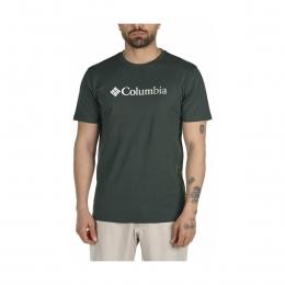 CSC Trio Stripe Graphic Erkek Yeşil Tişört (CS0117_370)