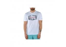 Roam Hex Graphic Erkek Beyaz Tişört (CS0118_100)