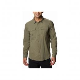 Newton Ridge Erkek Uzun Kollu Haki Gömlek (AO0762_397)