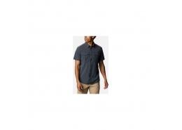 Newton Ridge Erkek Kısa Kollu Antrasit Gömlek (AO0763_011)