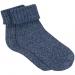 Kadın Simli Mavi Çorap (195147-26828)