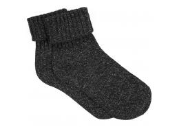 Simli Siyah Kısa Çorap (195147-27062)