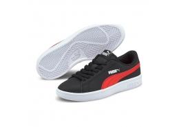 Smash V2 Kadın Siyah Spor Ayakkabı (365182-26)