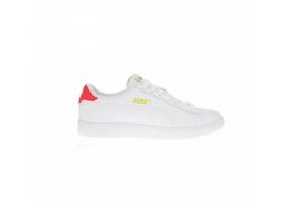 Smash v2 Leather Erkek Beyaz Spor Ayakkabı